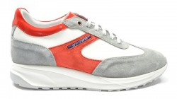 DRUDD Sneakers mod. GEORGE.COMB Red-Grey