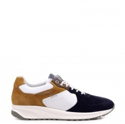 CESARE P. BY PACIOTTI Sneakers mod. PETDT3547MRI275 Taupe/Blue