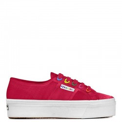 SUPERGA Sneakers mod. 2730 COTW COLORS HEARTS Red Cerise