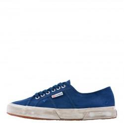 SUPERGA Sneakers mod. 2750 COTUSTONEWASH Blue MD Cobalt