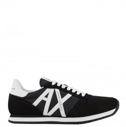 EMPORIO ARMANI Sneakers mod. XUX017-XCC68 Black White