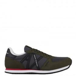 EMPORIO ARMANI Sneakers mod. XUX017-XCC68 Green