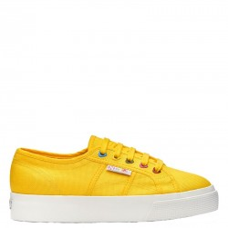 SUPERGA Sneakers mod. 2730 COTW COLORS HEARTS S00DPZ0 176 Yellow Sunflower