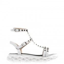 FABBRICA DEI COLLI Sandalo mod. 1WET106 Bianco