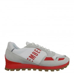 BIKKEMBERGS Sneakers mod. BKE108982 White Red
