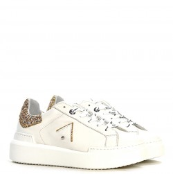 ED PARRISH Sneakers mod. CKLDSQ60 White Gold