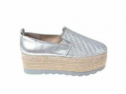 GUESS Mocassino Slip on mod. FL6GNSFAM14 Silver