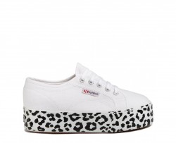 SUPERGA Sneakers mod. 2790 COTW PRINTEDFOXING S41157W White Leopard