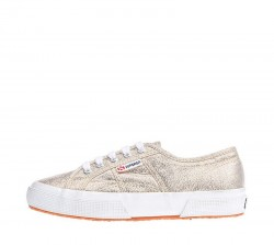 SUPERGA Sneakers mod. 2750 PLUS LAMEW S009510 174 Yellow Gold