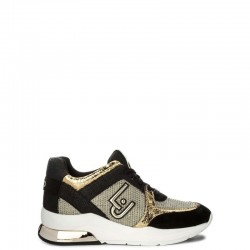 LIU-JO Sneakers mod. B18021 Black Gold