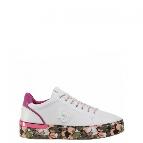 LIU-JO Sneakers mod. BA0001 Whiite Fuxia