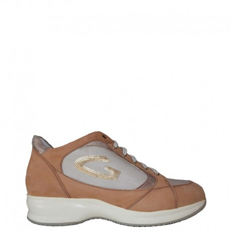ALBERTO GUARDIANI SNEAKERS SD52371D-I-BX51 CUOIO
